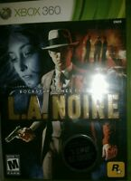 L.A. Noire  (Xbox 360, 2011) nip sealed