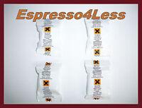 4 DESCALER TABLETS FOR NESPRESSO CAPSULE COFFEE MACHINE inc KRUPS, SIEMENS, JURA