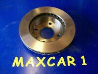Single Brake Disc to fit Ford Escort mk3