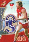 2007 AFL SELECT SUPREME ALL AUSTRALIAN SYDNEY SWANS CRAIG BOLTON AA4 CARD