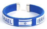 Comfy Israel Israeli Flag Bracelet, Star of David, Jewish Judaica Holy Land Gift