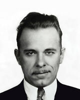 1930s American Bank Robber JOHN DILLINGER Glossy 8x10 Photo Criminal Print