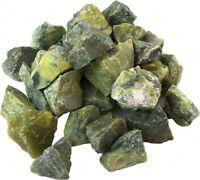 Mineralien, Rohsteine, Serpentin (China-Jade),  500 g-Beutel (17,90 €/kg)
