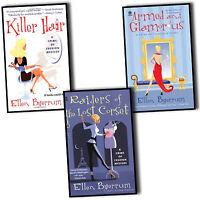 Ellen Byerrum Crime of Fashion Mysteries 3 Books Collection Pack Set Killer Hair