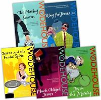 P G Wodehouse Collection 5 Books Set Jeeves Series Pack