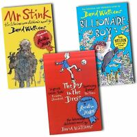David Walliams Collection 3 Books Set The Boy in the Dress, Mr Stink New