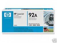 TONER HP NOIR C4092a NEUF + 50% OFFERT ! / c4092 92 92a