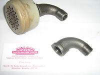 Merry tiller/briggs and stratton exhaust adaptor