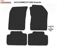 Alfa Romeo GT 2004 to 2010 Fully Tailored Rubber Car Mats
