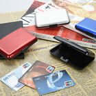 Deluxe Aluma Case Wallet Credit Card Holder Protect RFID Scanning Metal Hot