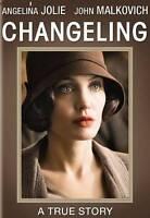 Changeling DVD Angelina Jolie,John Malkovich NEW!!!!