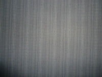 "~MERCEDES~GREY STRIPED FABRIC~44""LENGTH x 75"" WIDTH~ NOS"