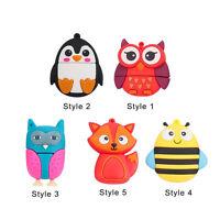 Cartoon Animals Owl Fox Bee 64GB 32GB USB 2.0 Flash Drive Thumb Memory Stick