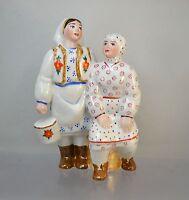 "Russische Porzellanfigur ""Melkerinnen"" Porzellan FRAU UdSSR"