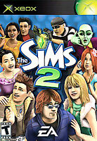 Xbox The Sims 2 Game COMPLETE