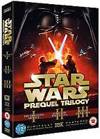 STAR WARS PREQUEL TRILOGY   6 DISC  DVD   NEW SEALED