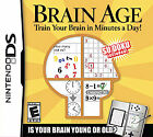 Brain Age: Train Your Brain in Minutes a Day (Nintendo DS, 2006)