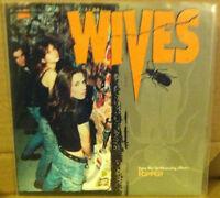 "THE WIVES CBGB Records 1997 Picture Sleeve 7"" Vinyl Single Record"