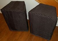 Peavey PV115 PV 115 Premium Padded Black Speaker Covers (2)   Qty of 1 = 1 Pair!