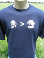 Michael Bakunin Over Karl Marx T-Shirt Anarchism