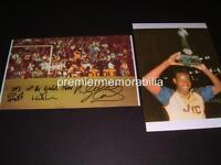 ARSENAL FC v LIVERPOOL 1989 MICHAEL THOMAS GOAL SIGNED (PRINTED) PHOTOGRAPHS