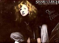 Shari Ulrich Talk Around Town AUTOGRAPHED New Sealed LP