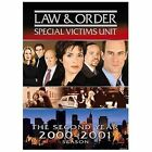 Law & Order: Special Victims Unit - The Second Year (DVD, 2005, 3-Disc Set)