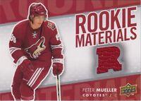 2007-08 UPPER DECK - PETER MUELLER ROOKIE MATERIALS #RM-PM