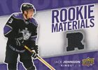 2007-08 UPPER DECK - JACK JOHNSON ROOKIE MATERIALS #RM-JJ