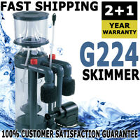 Aqua One ProSkim G224 Aquarium Fish Marine Saltwater Tank Protein Skimmer