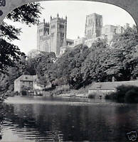 Keystone Stereoview of DURHAM Cathedral in ENGLAND From 1930's 600/1200 Card Set
