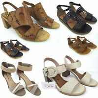 TAMARIS Damen Sandalen / Sandalette Sandale - Sommer Schuhe Pantoletten NEU WOW