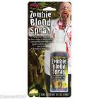 Bote de horror zombie REALISTA Sangre Falsa Vampiro Aerosol Disfraz Halloween
