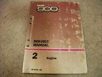 1979-1980 SAAB 900 Engine Service Manual
