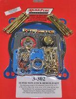 Quick Fuel Holley Carb Carburetor Double Pumper 4150 Rebuild Kit +