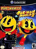 Pac-Man vs./Pac-Man World 2 Nintendo GameCube -- Comes in case