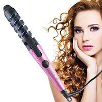 BlueTop Electric Hair Spiral Curler Crimper Deep Waver Curling Iron Wand Hot