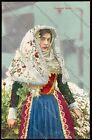 Costumi sardi Sassari Osilo cartolina GENOS08-291 SZH