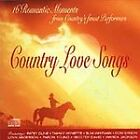 Country Love Songs, Various Artists, Good CD