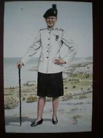 POSTCARD LIEUTENANT 1ST BN THE ROYAL IRISH REGIMENT (NO 3 DRESS) CYPRUS 1993