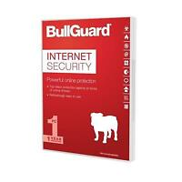 NEW! Bullguard Internet Security 2018 1Year/3Pc Windows Only 25 Pack Oem Soft Bo