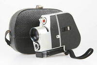 Bauer electric, 8mm Filmkamera mit 1,8/9-21mm, Tasche