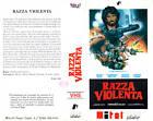 Razza violenta (1983) VHS Mitel Video 1a Ed. Fernando Di Leo Henry Silva rara