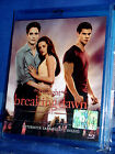 The Twilight Saga BREAKING DAWN Part 1 BLU-RAY NUOVO SIGILLATO!!!