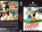 College (1984) VHS Domovideo 1a Ed. Federica MORO Christian Vadim