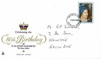 4 AUGUST 1980 QUEEN MOTHER 80th BIRTHDAY MERCURY FIRST DAY COVER ROMFORD FDI