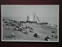 POSTCARD RP SUSSEX HASTING - THE BEACH 1910'S