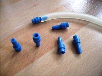 Schlauchverbinder 5 St. Schlauch adapter für Schläuche 4 bis 6 mm. PVC