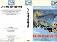 L' ultimo Countdown (1980) VHS Stella Video 1a Ed. K. Douglas  - introvabile