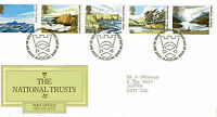 24 JUNE 1981 NATIONAL TRUSTS POST OFFICE FIRST DAY COVER GLENFINNAN SHS